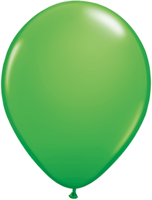 "11"" Spring Green Balloons - Qualatex Latex Balloons 